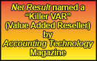 "Net Result named a ""Killer VAR"" (Value Added Reseller) by Accounting Technology Magazine"